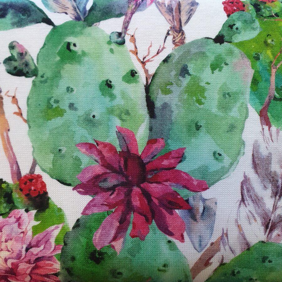 Malu apdares trikotāža kaktusi