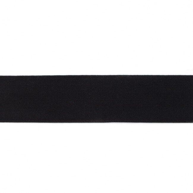 Melna gumija bokseršortiem 4 cm (šobrīd izpārdots)