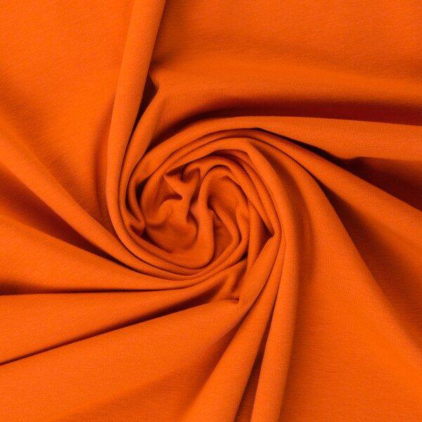 Oranža kokvilnas trikotāža 220 gr/m2