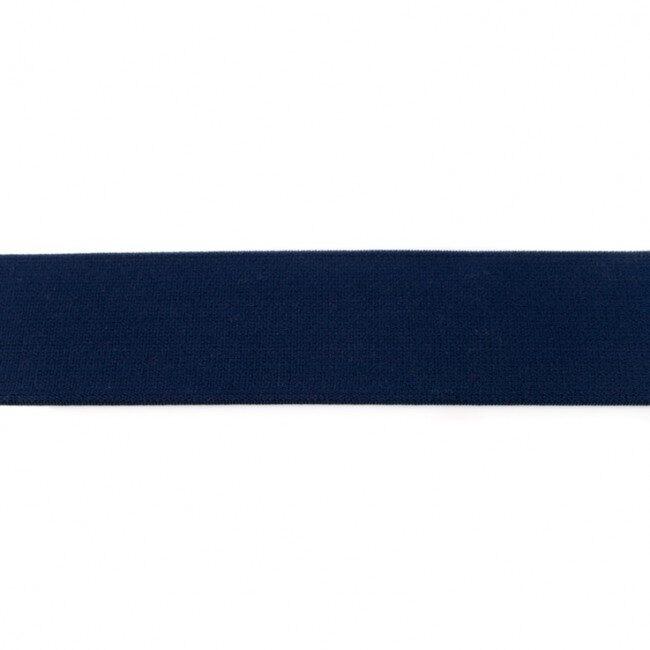 Tumši zila gumija bokseršortiem 4 cm