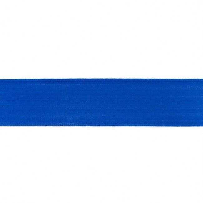 Kobalta zila gumija bokseršortiem 4 cm