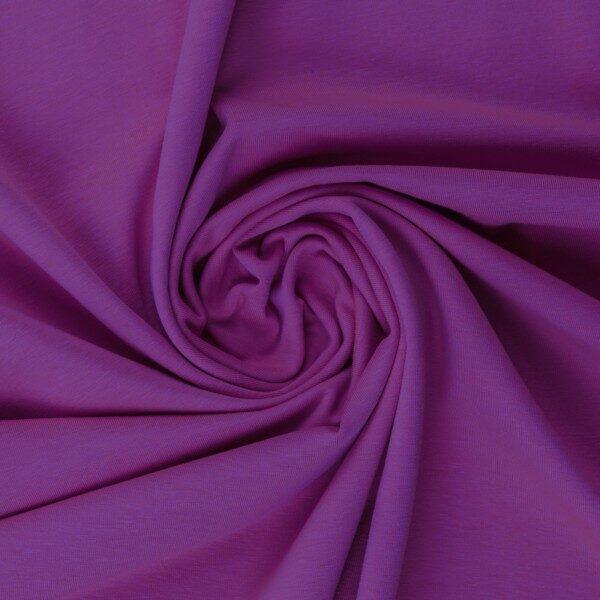 Lavandas violeta kokvilnas trikotāža 220 gr/m2