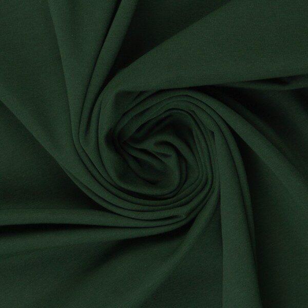 Meža zaļa kokvilnas trikotāža 220 gr/m2