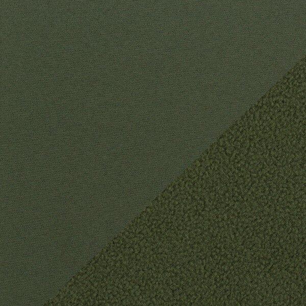 Olīvu krāsas softshell