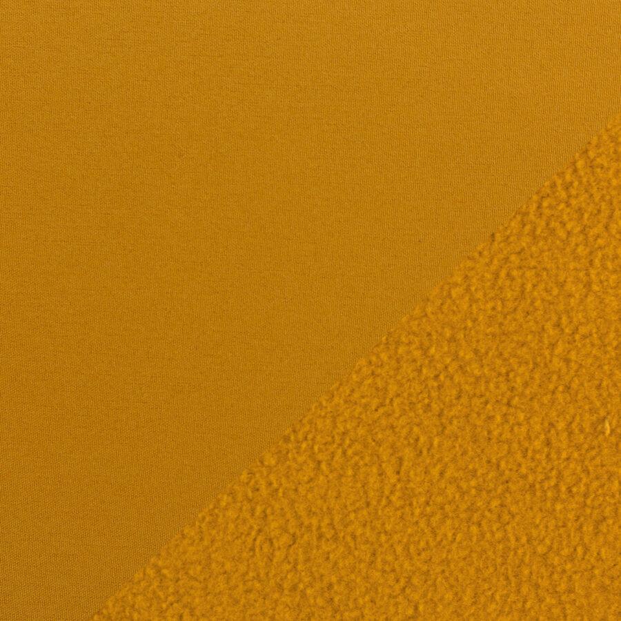 Sinepju krāsas softshell