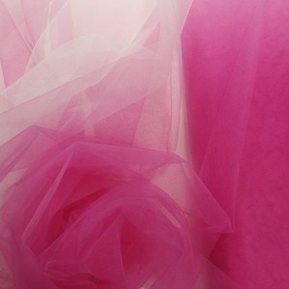 OMBRE KRĀSOJUMA TILLS  ( no balta līdz rozā )