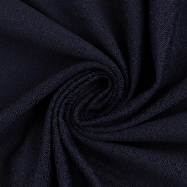 Navy zila cilpiņu trikotāža