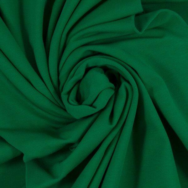 Zāles zaļa kokvilnas trikotāža 220 gr/m2