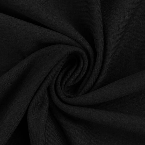 Melna cilpiņu trikotāža