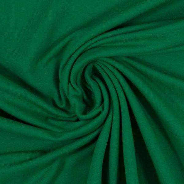 Zāles zaļa cilpiņu trikotāža